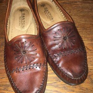 Santoni Men's Loafer